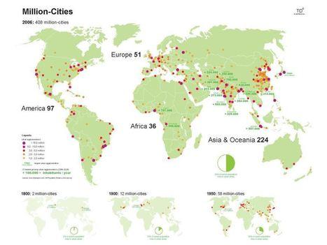 Las ciudades - El orden mundial en el S.XXI | Enseñar Geografía e Historia en Secundaria | Scoop.it