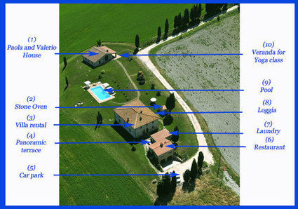 Tuscany Villa map | Villa in Tuscany | Tuscany Apartments in the hills or in the city | Scoop.it