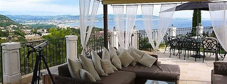 French Riviera, Vacation home rental Panoramic sea view   France Travel - Vacation Home Rentals   Scoop.it