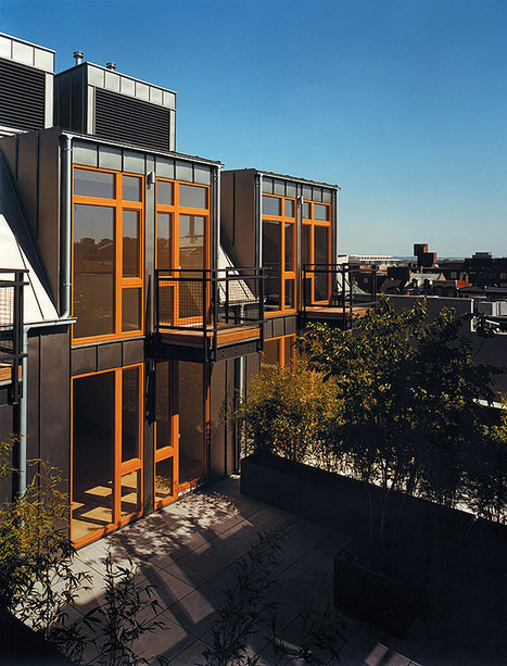 Up on the Roof | ArchitectureWeek | sustainable architecture | Scoop.it