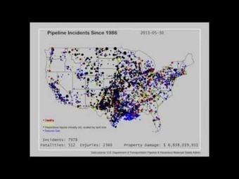 Video shows every oil pipeline spill in US since 1986 | SecureOil | Scoop.it