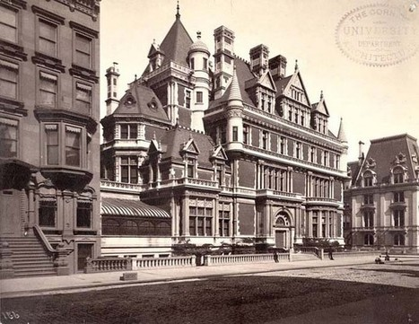 The Gilded Age Mansions of Millionaire Row on NYC 5th Avenue ... | William K Vanderbilt I | Scoop.it
