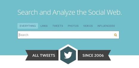 Comment faire une recherche sur Twitter ? | info documentation | Scoop.it