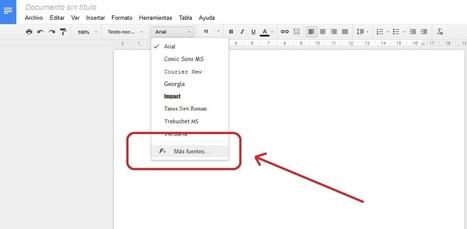 Cómo añadir hasta 450 nuevas fuentes a los ppt y docs de Google Drive | MECIX | Scoop.it