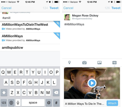 Publicité : Twitter teste la publication de vidéo par hashtag | Social Media | Scoop.it
