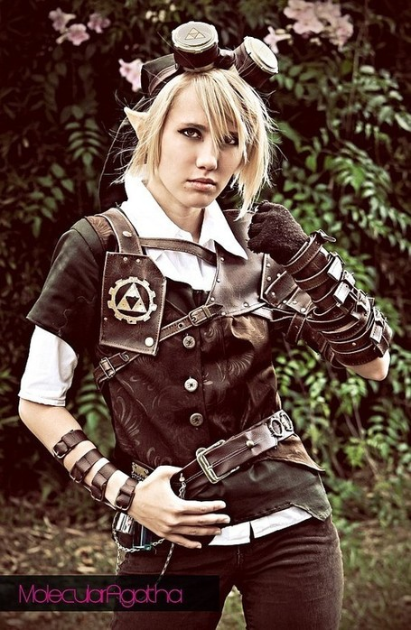 Beautiful Steampunk Link Cosplay by Molecular Agatha | All Geeks | Scoop.it