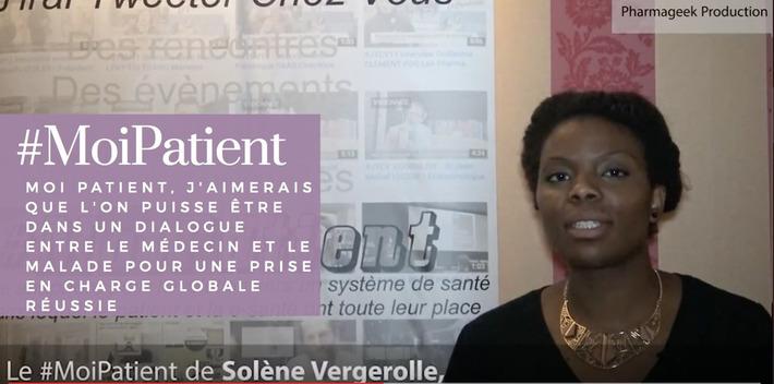 """""""#MoiPatient, j'aimerais que l'on puisse être dans un dialogue entre le médecin et le malade pour une prise en charge globale réussie"""", Solène Vergerolle, chargée de communication pour l'associatio...   PATIENT EMPOWERMENT & E-PATIENT   Scoop.it"""