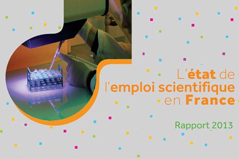 L'état de l'emploi scientifique en France - MESR : enseignementsup-recherche.gouv.fr | L'ebook dans l'édition scientifique et universitaire | Scoop.it