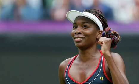 Williams won the courts were still slick and the American was a dazzling sight | Sports Updating | business | Scoop.it