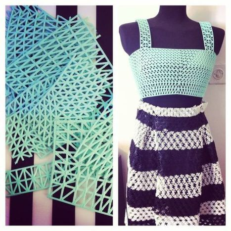 This Fashion Student 3-D Printed Her Entire Graduate Collection at Home   3D Printing and Innovative Technology   Scoop.it