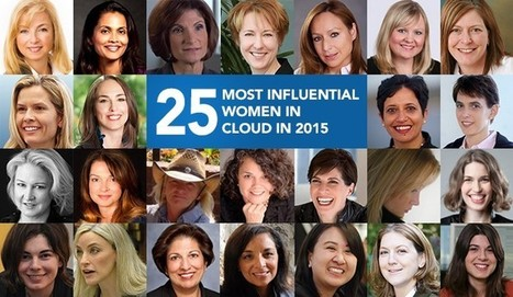 The 25 Most Influential Women in Cloud in 2015 | Data Nerd's Corner | Scoop.it