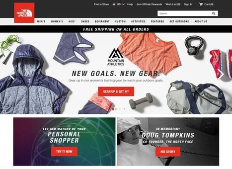 Comment The North Face a appliqué Watson à l'expérience d'achat #phygital #bigdata #retail | Innovation dans la distribution | Scoop.it