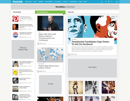 "Welcome to the New Mashable | ""Social Media"" 