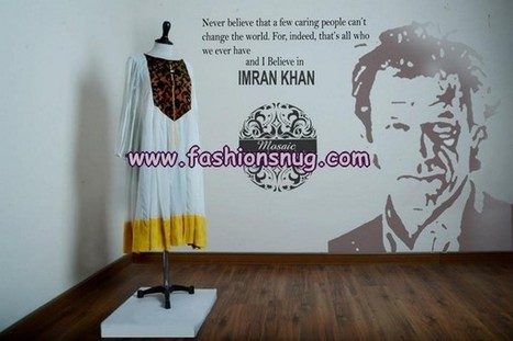 Mosaic by Sundus Naya Pakistan Women Dresses 2013 Pakistan Tehrek e Insaf (PTI) | Fashion Blog | Scoop.it