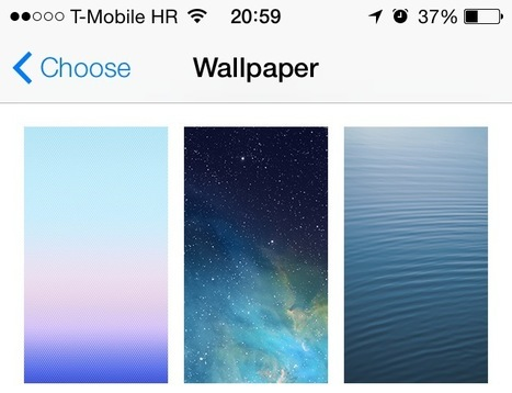 10 great iOS 7-ready wallpapers for iPhone 5 - iDownloadBlog | Apple | Scoop.it