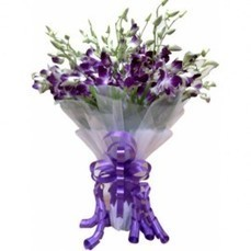 Lovely Purple Orchids Bouquet | Trendy Dresses | Scoop.it