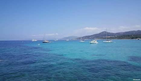 50 nuances de bleus à l'Ile Rousse en Corse | Ile Rousse Tourisme | Scoop.it