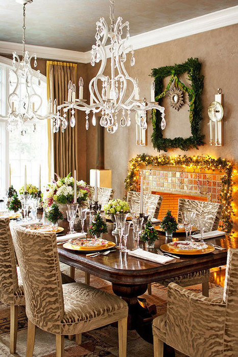 33 Christmas Decorations Ideas Bringing The Christmas Spirit into Your Living Room | Christmas Decorations | Scoop.it