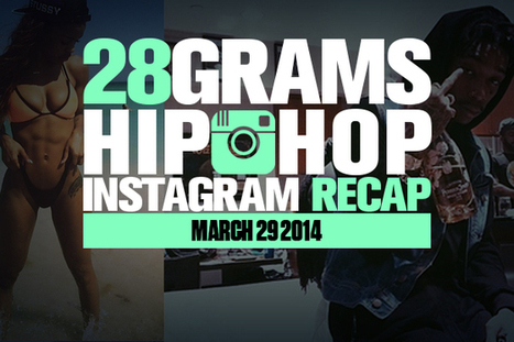 28 Grams: Hip-Hop Instagram Recap (March 29) - HotNewHipHop | hip hop | Scoop.it