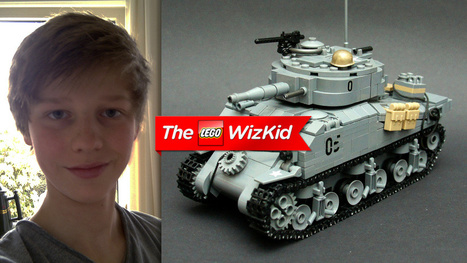 This 14-Year-Old Kid Is a Lego Genius | The Netherlands | Scoop.it