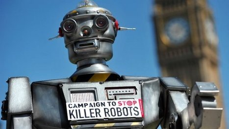 Economie - Les robots-tueurs : pas encore d'actualité mais déjà redoutés | Infos Drones | Scoop.it