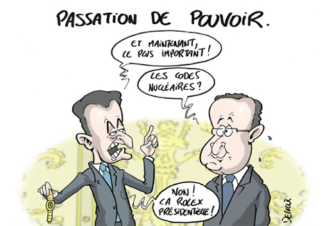 Passation de pouvoir ! | Baie d'humour | Scoop.it