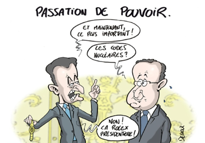Passation de pouvoir ! | Baie d'humour | Scoop.it