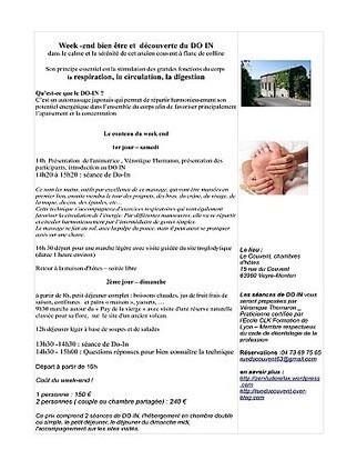 week end bien être avec le DO IN | Tourisme en Auvergne - the best of ... | Scoop.it