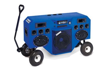 Le Mobile Blastmaster, un Boombox sur roues   Rap , RNB , culture urbaine et buzz   Scoop.it
