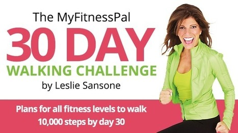The 30-Day Walking Challenge | One Step at a Time | Scoop.it