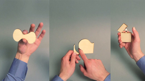 Woodoo: A Stop-Motion Animation with Laser-Cut Wood | Machinimania | Scoop.it