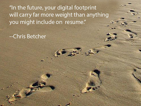 11 Tips For Students To Manage Their Digital Footprints | Everything iPads | Scoop.it