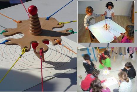 Un crayon coopératif | Jeux coopératifs | Scoop.it