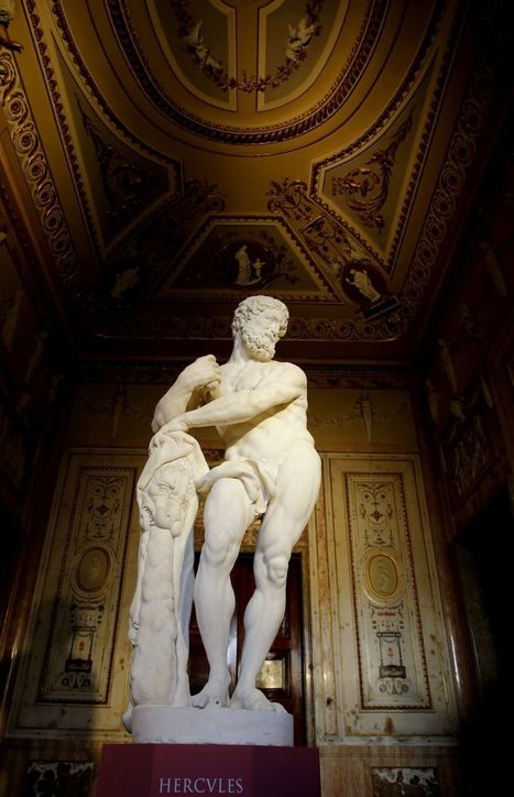 Un 'Hércules' del XVII resucita del olvido en el Palacio Real | LVDVS CHIRONIS 3.0 | Scoop.it