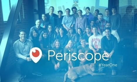 Periscope a un an : une ascension fulgurante dans le live streaming video | Retail, Numérique et Territoires | Scoop.it