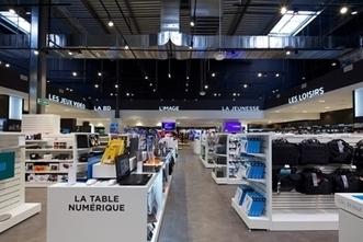 Les espaces culturels E. Leclerc repensés par Dragon Rouge | Point de vente et retail | Scoop.it