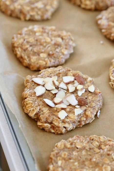 Almond Butter Oatmeal Cookies. Vegan Gluten-free Oil-free Recipe | Vegan Richa | My Vegan recipes | Scoop.it