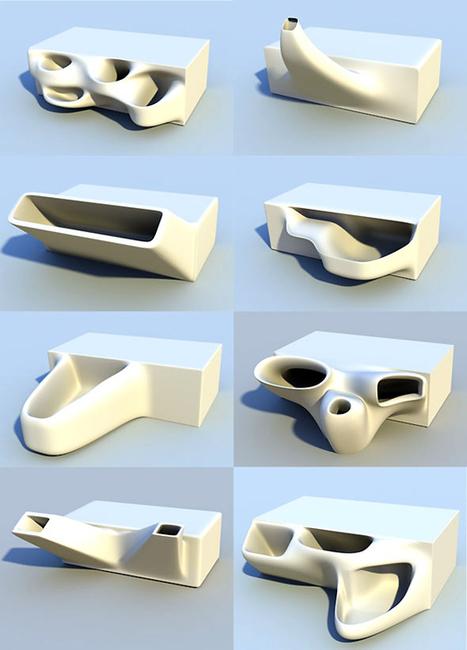 3D Printed Planter Bricks | Urban Gardens | Garden Grunt | Scoop.it