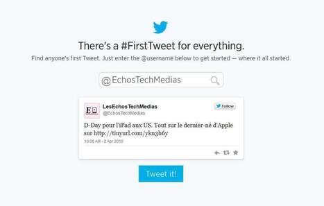 Pour fêter ses 8 ans, Twitter retrouve votre premier «tweet»   Booster son eco-entreprise ou son association environnementale sur le Web et les réseaux sociaux   Scoop.it