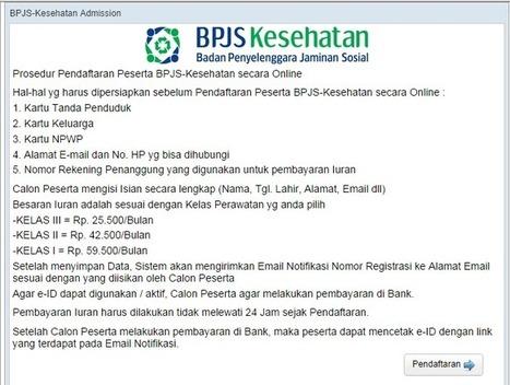 BPJS Kesehatan - Cara Daftar Peserta BPJS Secara Online - imuzcorner | imuzcorner | Scoop.it