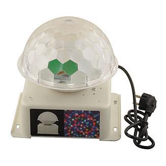 Modern Sound-Activate Rotating LED RGB Crystal Magic Ball Effect Light Disco Dj Stage Lighting – LightSuperDeal.com | LED lights | Scoop.it