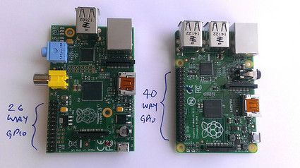 La Raspberry Pi B+ acceptera les extensions HAT - MiniMachines.net | Raspberrypi_fr | Scoop.it