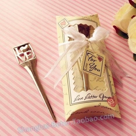 Baby Shower Favors LOVE Envelope Opener or Bookmark Favors WJ009/B | Wedding Gifts | Scoop.it