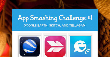App Smashing Challenge #1 - Ann Feldmann | iPads, MakerEd and More  in Education | Scoop.it