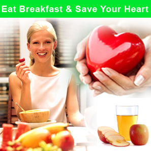 Eat Breakfast & Save Your Heart | Health Facts | Scoop.it