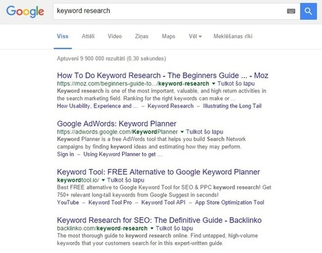 Use this 19 Step Keyword Research Process to SKYROCKET your Organic Search Traffic | Référencement, visibilité | Scoop.it