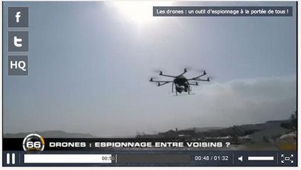 M6, France 2, France 5, quand la télévision française s'intéresse aux drones | Geeks | Scoop.it