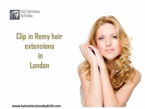 Buy Clip in Remy hair extensions London   Hair Extensions London   Scoop.it