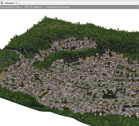 155 million textured polygons in ESRI CityEngine favela model driven by AMD FirePro W9100 | FireUser Blog | CartOrtho | Scoop.it
