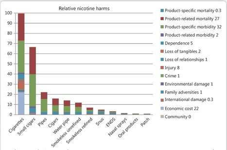 ARTICLE: European Addiction Research 2014 Vol.20 No.5 Estimating the Harms of Nicotine-Containing Products | Drugs, Society, Human Rights & Justice | Scoop.it